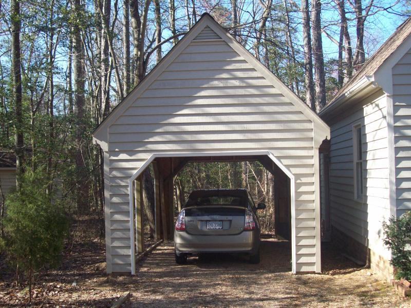 sample carport